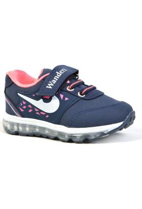 Wanderx 87 Cırtlı Işıklı Ortopedik Kız Çocuk Spor Ayakkabı