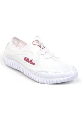Wickers 1042 Lastikli Yürüyüş Kadın Spor Ayakkabı