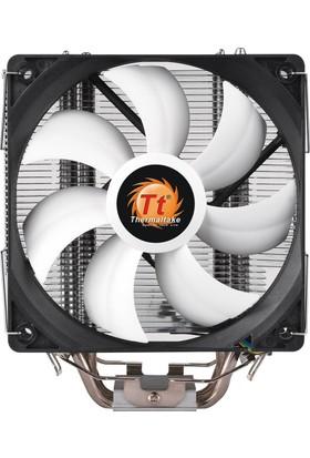 Thermaltake Contac Silent 12cm AM4, İntel LGA 1151 Uyumlu CPU Soğutucu CL-P039-AL12BL-A