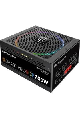 Thermaltake SmartPro 750W Full Modular 80+ Broze 14 cm RGB led Fanlı PSU PS-SPR-0750FPCBEU-R