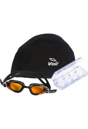 B-Sport Povit Gs3 Yüzücü Gözlüğü-Voit Bez Bone-Busso Kulak Tıkacı