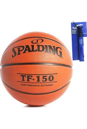 Spalding Tf-150 Basketbol Topu + Povit Top Pompası