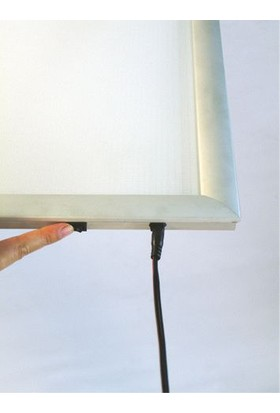 ORES İnce LED Çerçeve - DIN A2 (420x594 mm.)