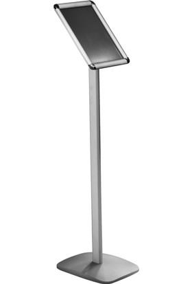 ORES Dekoratif Tabanlı Gönye Köşe Bilgilendirme Panosu - DIN A4 (210x297 mm.)