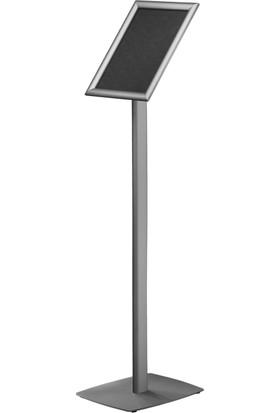 ORES Sac Tabanlı Gönye Köşe Bilgilendirme Panosu - DIN A4 (210x297 mm.)