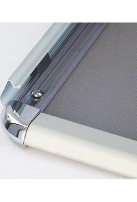 ORES 32mm. Alüminyum Afiş Çerçevesi Rondo Köşe - DIN A1 (594x841 mm.)