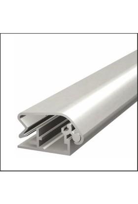 ORES 32mm. Alüminyum Afiş Çerçevesi Gönye Köşe - DIN A2 (420x594 mm.)