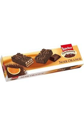 Loacker Bitter Çikolatalı Portakallı Bisküvi 100 gr