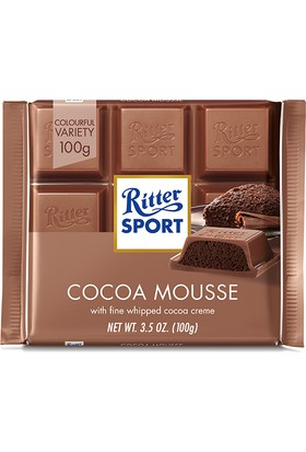 Ritter Sport Cocoa Mousse 100 gr