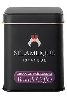 Selamlique Çikolatalı Türk Kahvesi Sade 125 gr