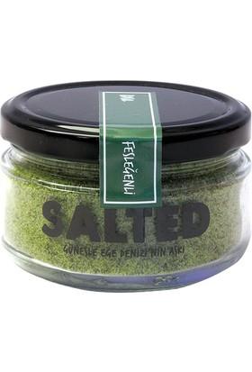 Salted Goods Fesleğenli Tuz Cam Kavanoz 175 gr