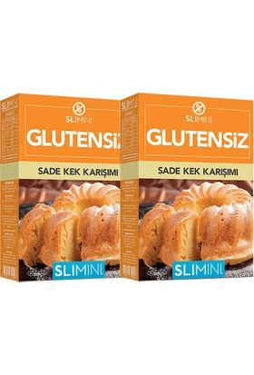 Slimini Un Glutensiz Kek Miks 2 Adet x 500 gr