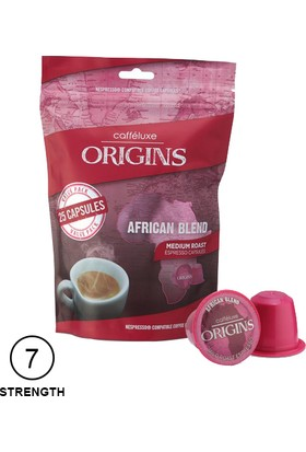 Coffee Luxe Nespresso® Uyumlu African Kapsül Kahve (25 Adet)