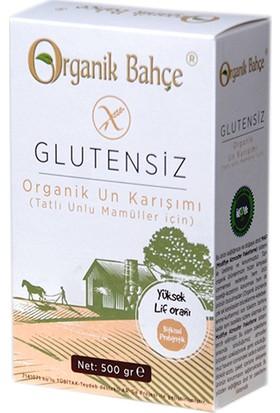 Organik Bahçe Glutensiz Tatlu Unlu Mamüller İçin Un Karışımı 500 gr