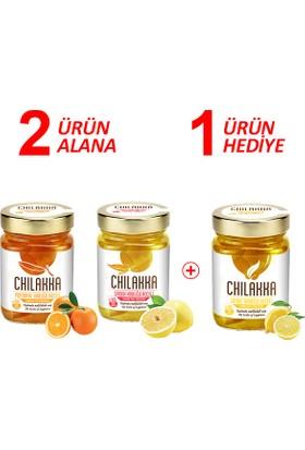 Chilakka Portakal Kabuğu Reçeli & Şadok Kabuğu Reçeli + Limon Kabuğu Reçeli