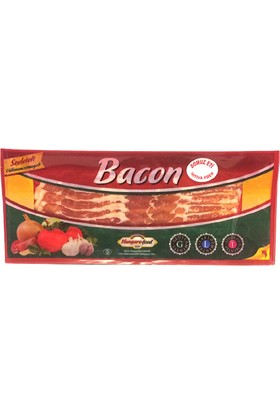 Hungaro Food Smoked Streaky Bacon Dilimli 100 gr