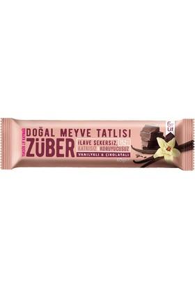 Züber Vanilyalı&Çikolatalı Meyve Tatlısı 12 Adet x 40 gr