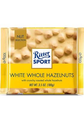 Ritter Sport White Whole Hazelnut 100 gr