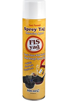 Fıs Yağ (Spray) 600 ml