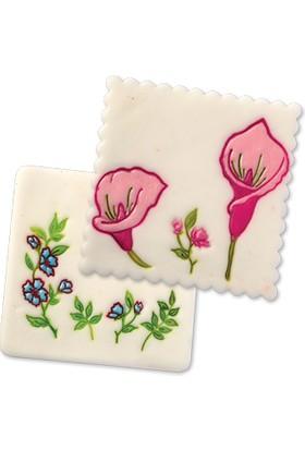 Alpenhaın çiçek Figürlü Pasta Kalıbı