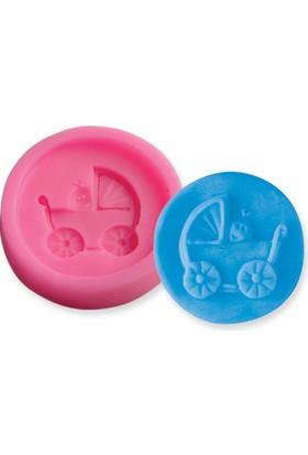 Silikoline silikon Bebek Arabası Kalıbı