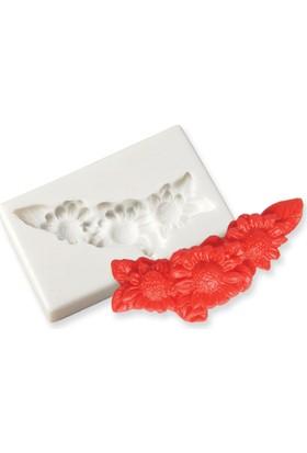 Silikoline silikon Çiçek Demeti Kalıbı