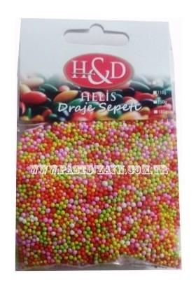 Sprinkles 60 Gr Mix Karışık Mini Top Şekerleme / Granür