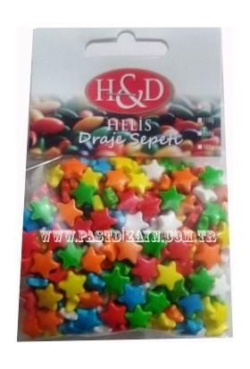 Sprinkles 100Gr Yıldız Şekerleme Granür Süsleme