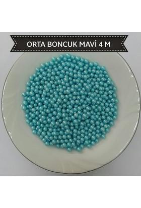 Sprinkles mavi 4 Mm Boncuk Sprinkles 90 Gr.