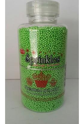 Sprinkles yeşil 2 Mm Sprinkles 250 Gr.