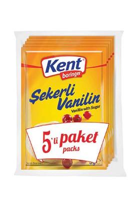 Kent Boringer şekerli Vanilin 5&#39Li Ekonomik Paket