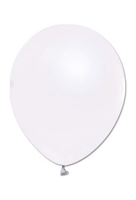 Alpenhaın beyaz Lateks Balon 5Adet