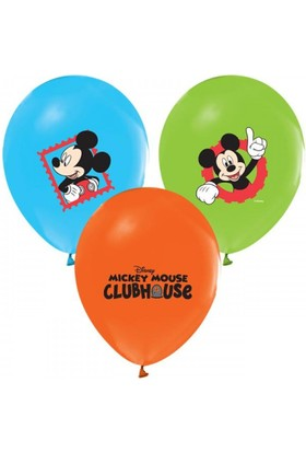 Alpenhaın mickey Baskılı Latex Balon 5Ad