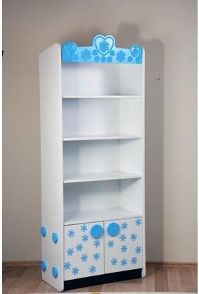 Musvenus Mobilya Elsa Genç Odası Kitaplık