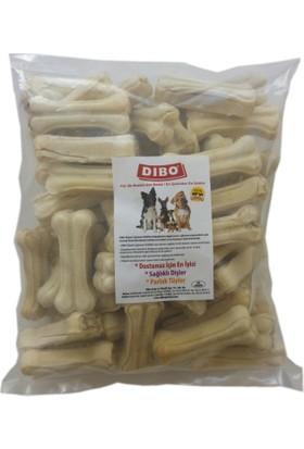 Dibo Köpek Çiğneti Pres Kemik Beyaz 20-25 gr 7 cm ( 50 Adet )