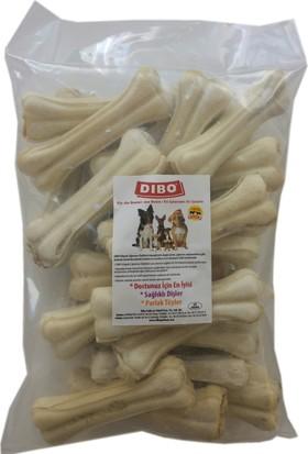 Dibo Köpek Çiğneti Pres Kemik Beyaz 50-55 gr 12 cm ( 25 Adet )