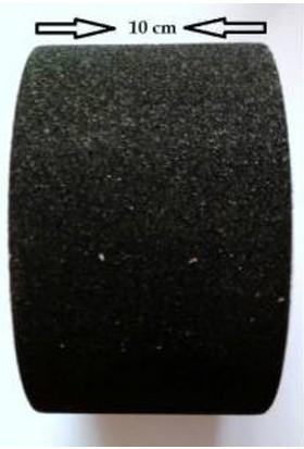 Siyah Merdiven Ve Zemin Kaydırmaz Kaymaz Bant 100Mm X 25Mt