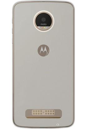 Gpack Motorola Moto Z Play Kılıf 02mm Silikon Case