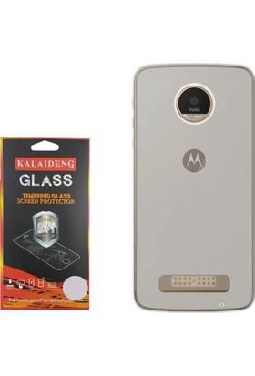 Gpack Motorola Moto Z Play Kılıf 02mm Silikon Case +Cam