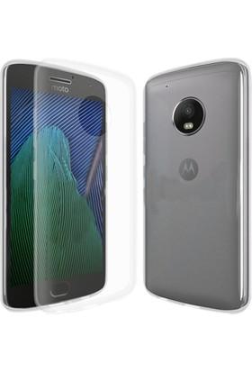 CaseUp Motorola Moto G5 İnce Şeffaf Silikon