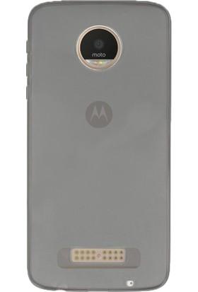 CaseUp Motorola Moto Z Play İnce Şeffaf Silikon