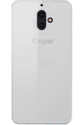 CaseUp Casper Via F1 İnce Şeffaf Silikon