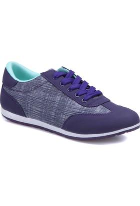 Carmens U1204A Lacivert Kadın Sneaker Ayakkabı