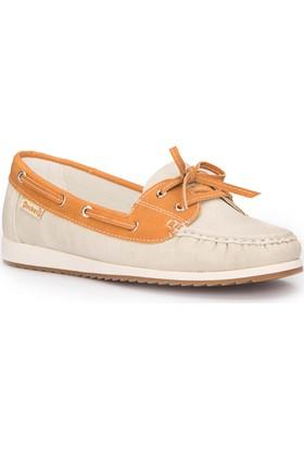 Dockers 216607 Bej Kadın Loafer Ayakkabı