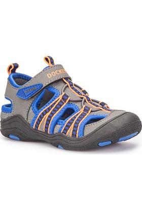 Dockers 222787 Gri Turuncu Erkek Çocuk Sandalet