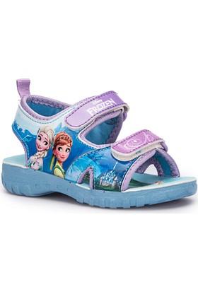 Frozen İrina Mavi Kız Çocuk Sandalet