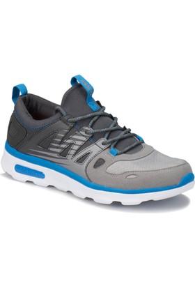 Kinetix Duson Gri Açık Gri Mavi Erkek Yürüyüş Ayakkabısı