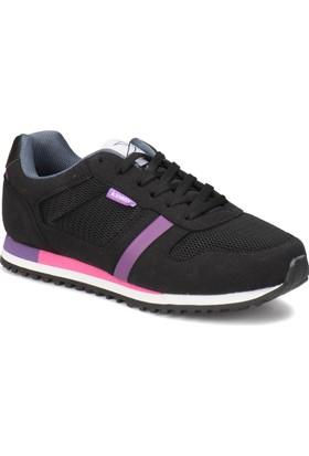 Kinetix Latix W Siyah Mor Kadın Ayakkabı