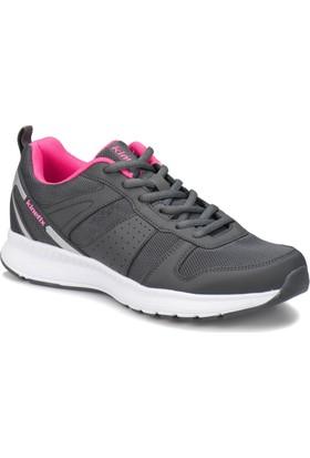 Kinetix Shield W Gri Neon Pembe Kadın Koşu Ayakkabısı