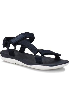 Kinetix Solen Lacivert Kadın Sandalet